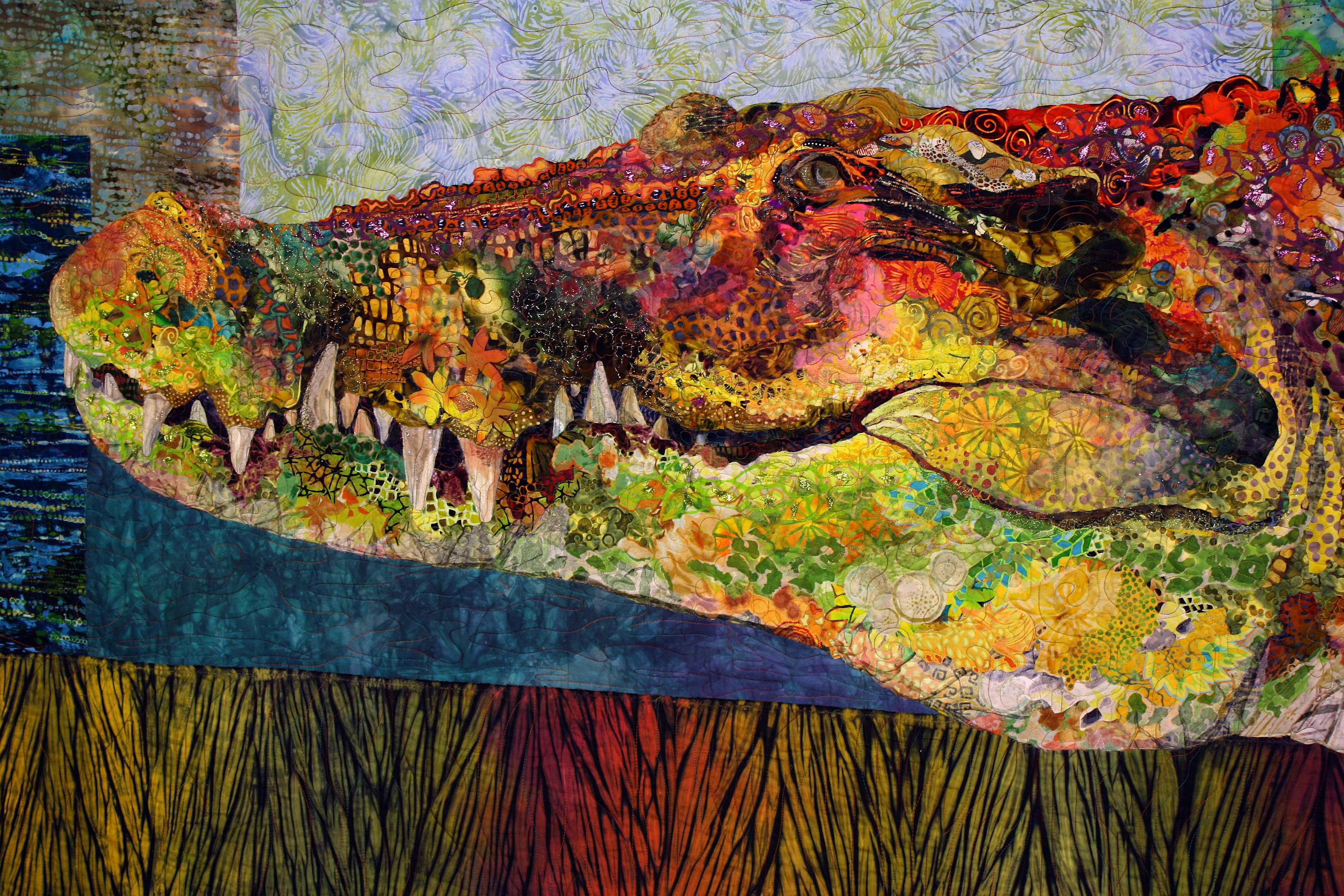 "Quilt Stories: (Re)Introducing ""Crocodylus Smylus"""