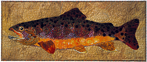 Quilt Stories: There's Somethin' Fishy Going On