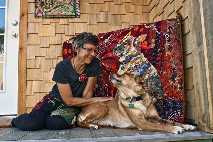 "Quilt Stories: ""Dixie Dingo Dreaming"" Updated with Video"