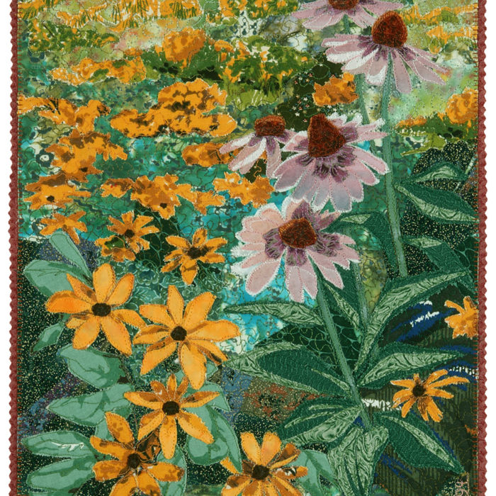 Echinacea and Black-eyed Susans