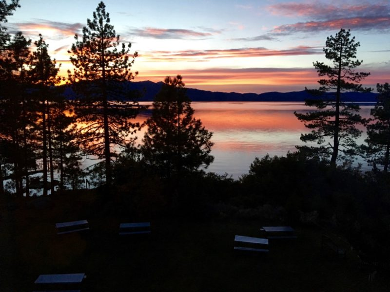 On the Road: Art Quilt Tahoe