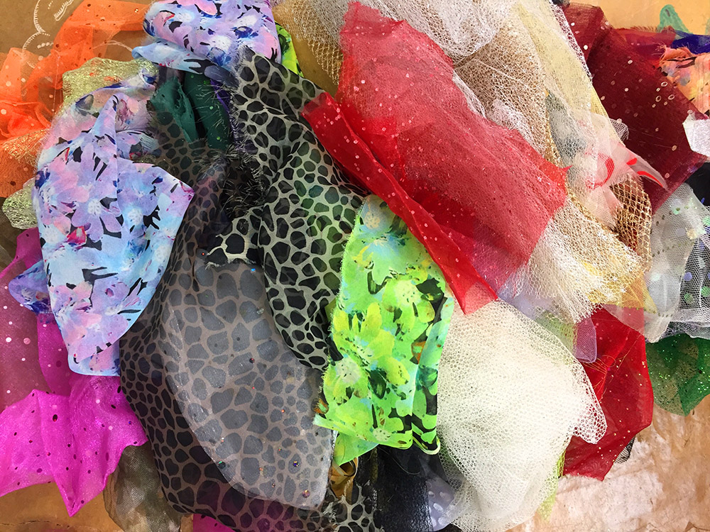 Using Sheer, Netting, and other Semi-Transparent Fabrics