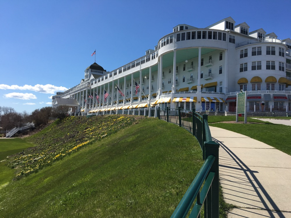 On the Road: Grand Hotel, Mackinac Island, MI