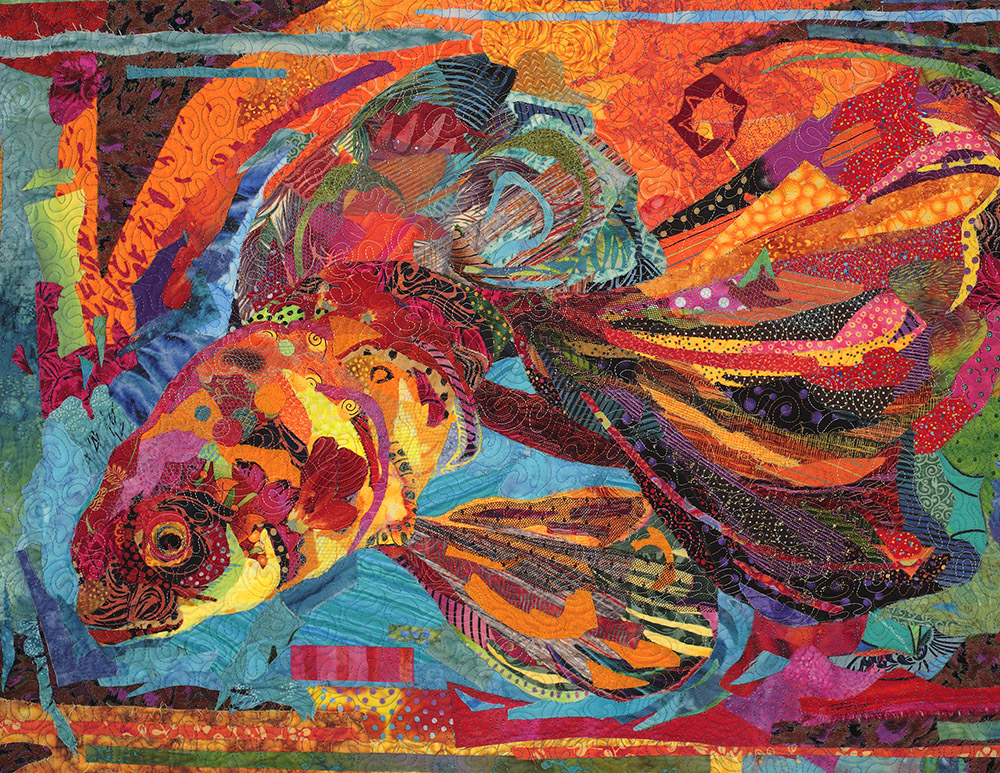 Quilt Stories: Not-So-Goldfish