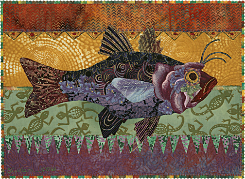 Quilt Stories: There's Somethin' Fishy Going On | Susan Carlson Quilts : fishing quilt - Adamdwight.com