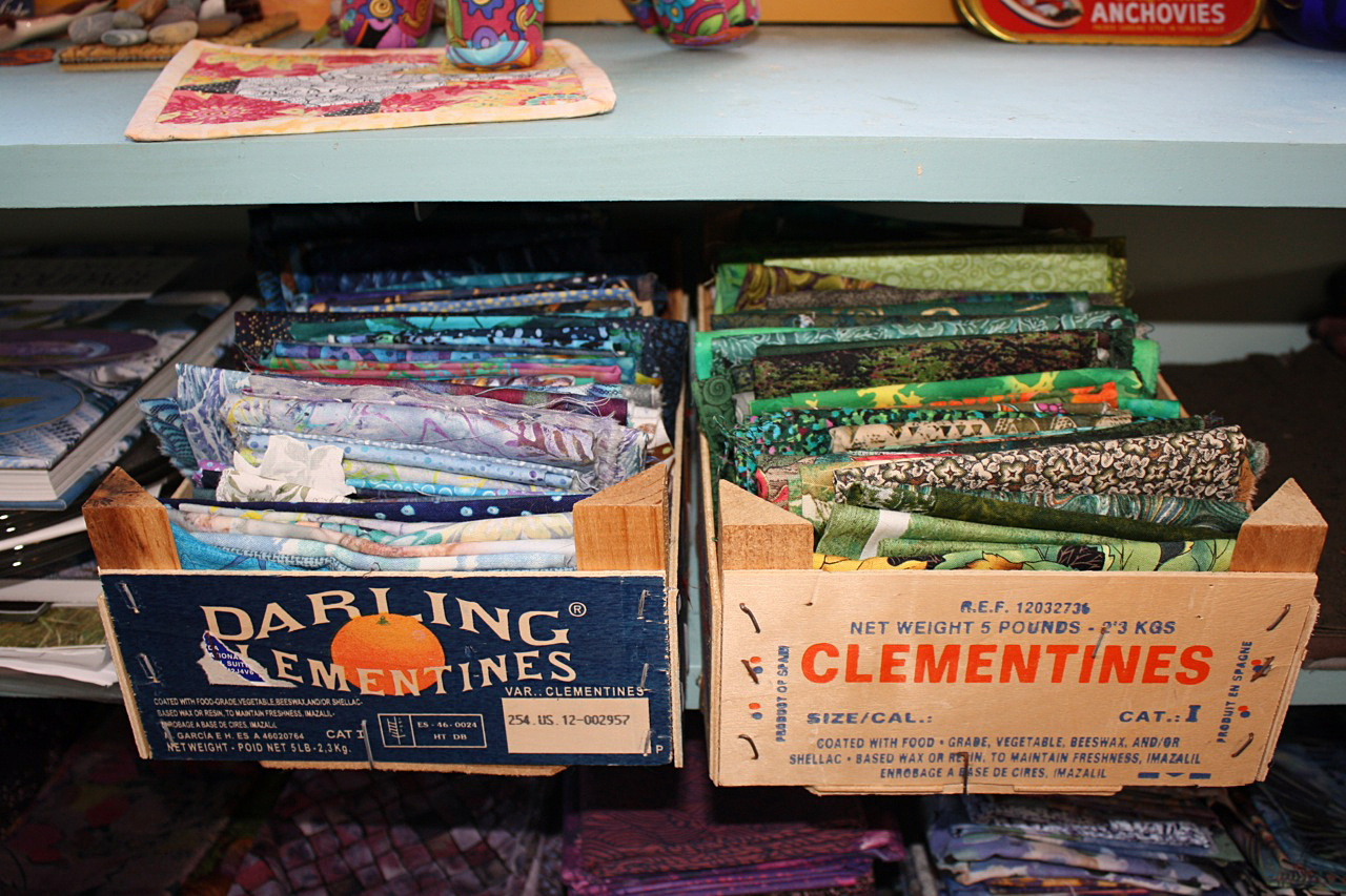 Sort It Out: Organizing Fabric
