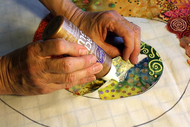 Why Glue?   Susan Carlson Quilts