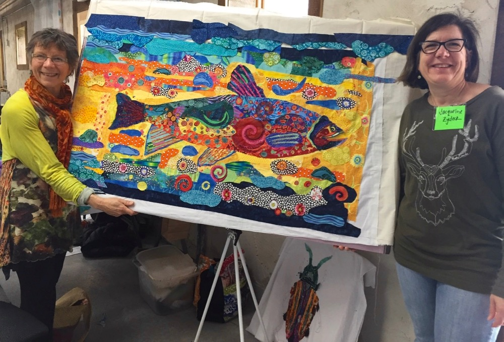 On the Road: Wisconsin Museum of Quilts and Fiber Arts 2017