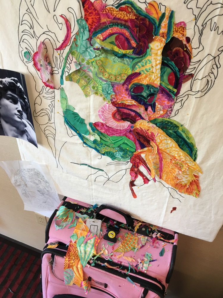 On the Road: Maine Quilt Retreat May 2017