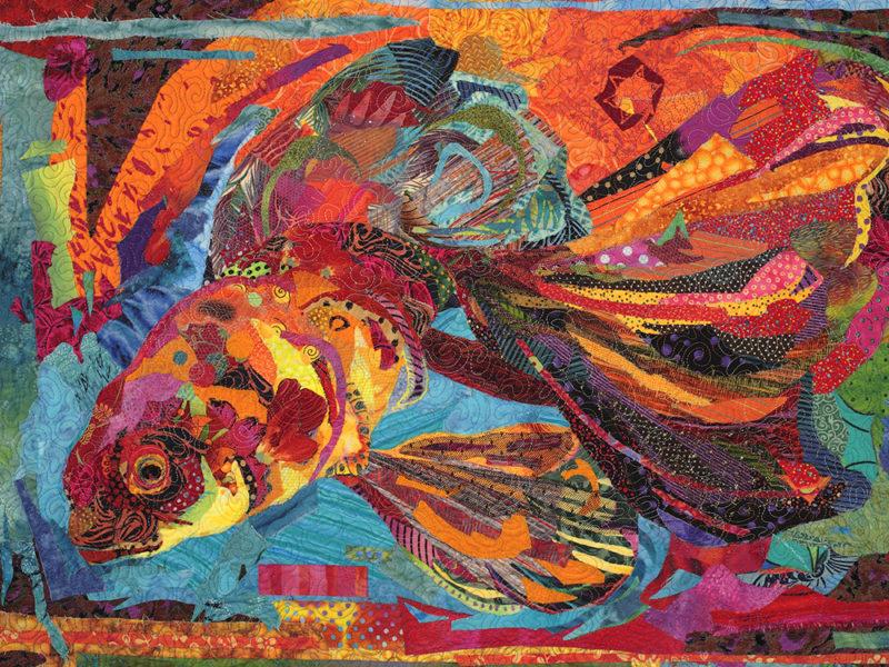 Quilt Stories: Not-So-Goldfish