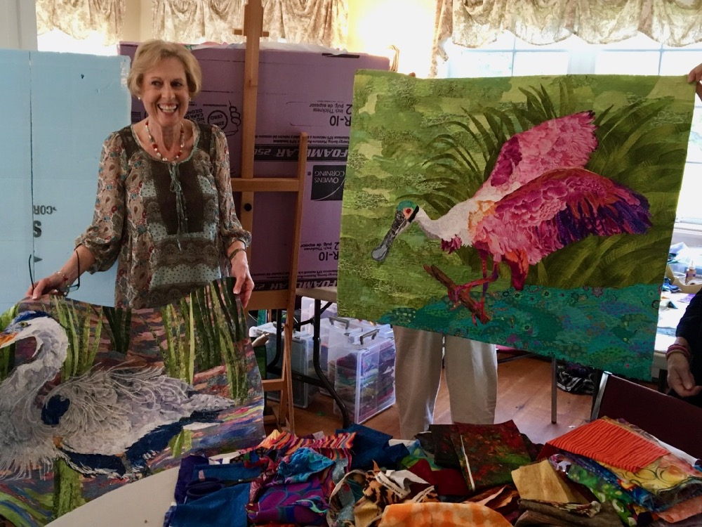 Registration Open for Susan Carlson 2018 Quilt Retreats
