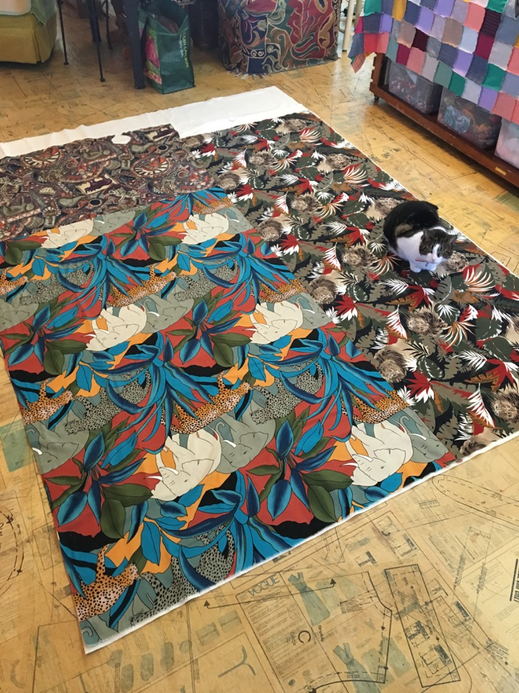 Free Motion Quilting On Fabric Collage Quilts Susan