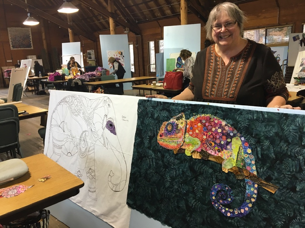 On the Road: Art Quilt Tahoe 2017